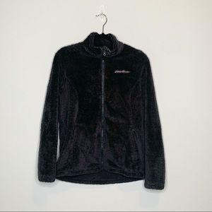 Eddie Bauer Ladies Full Zip Jacket grey medium
